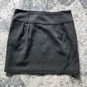 Forever 21 Skirts - Plaid gray mini skirt with belt loops M